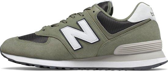 New Balance 574 Sneakers Heren - Khaki