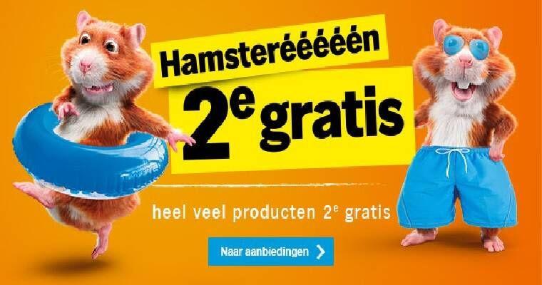 Tweede hamsterweek bij Albert Heijn (2e gratis)