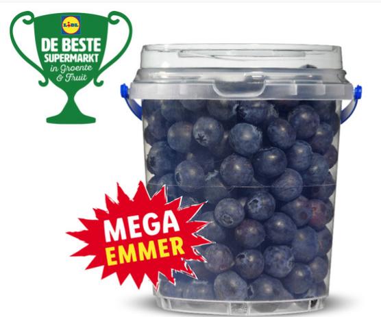 Blauwe bessen - 500 gram