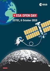 Naar de maan tijdens ESA's Open Dag (Registreren is nu mogelijk)