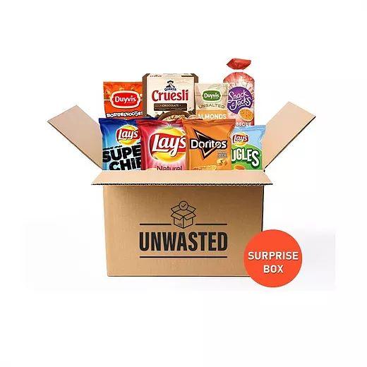 [unwastedbox] 2,55 korting op een box van 12,45