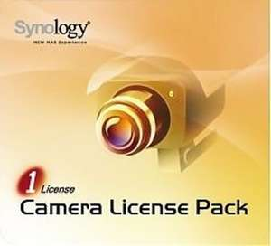 Synology IP CAMERA LICENSE PACK FOR 1 (normaal 48,80)