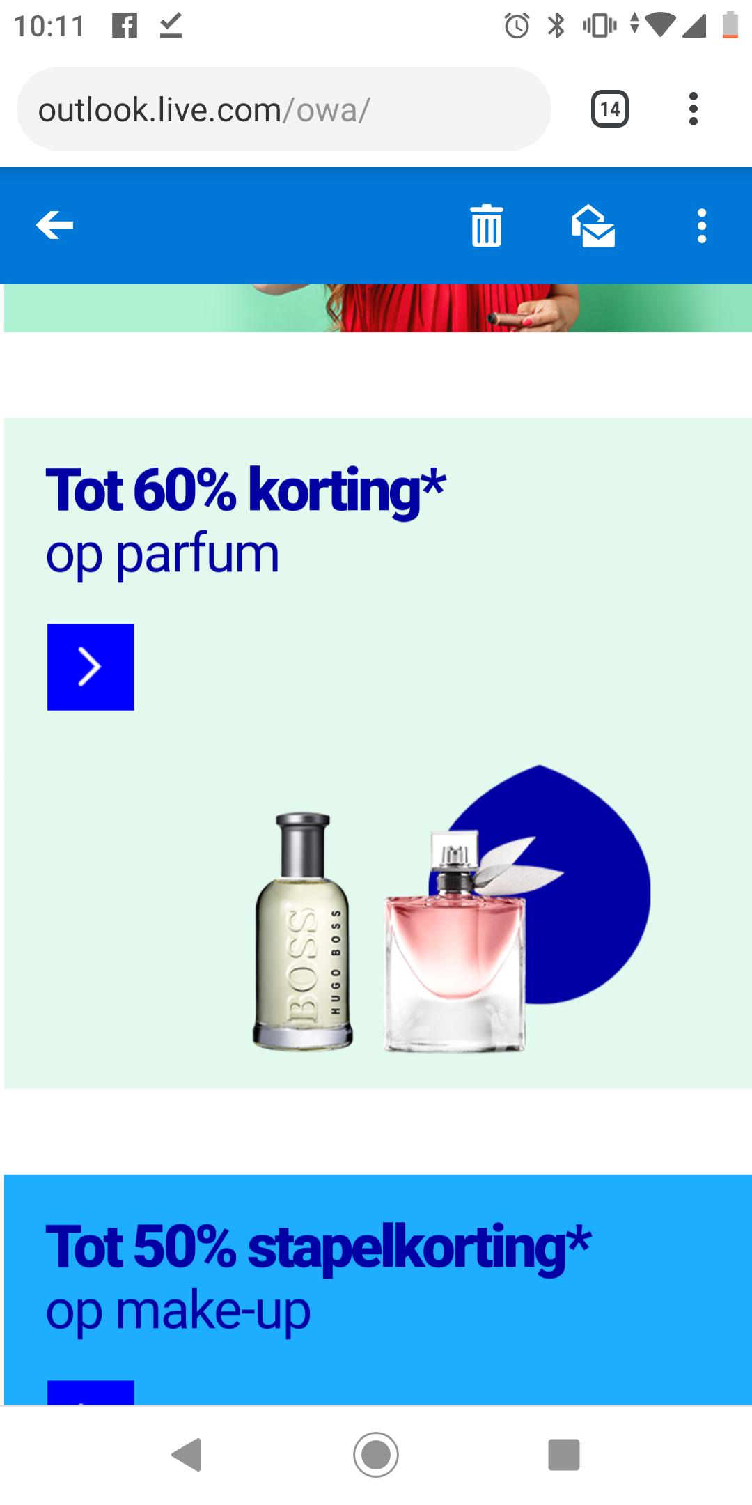 Tot 60% korting op diverse parfums bij bol.com