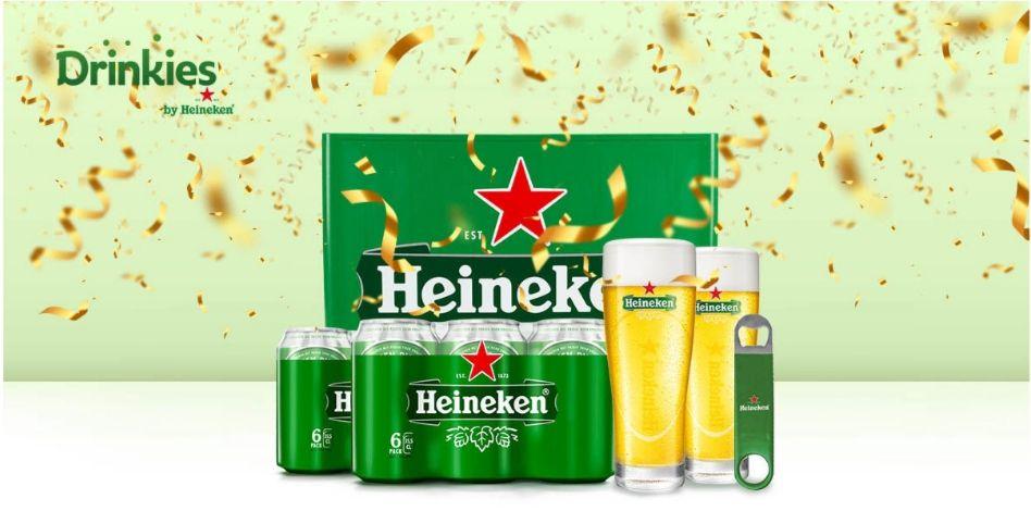 Nieuwe Heineken bezorgdienst start met een actie! Nooit meer sjouwe met een lauwe!
