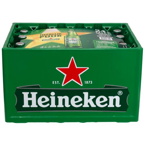 Krat Heineken! Bij dirk €9,79