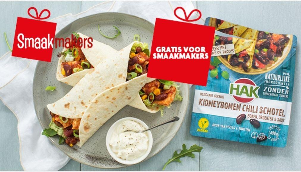 [Smaakmakers] Gratis HAK Kidneybonen Chili bonenschotel @ Deka