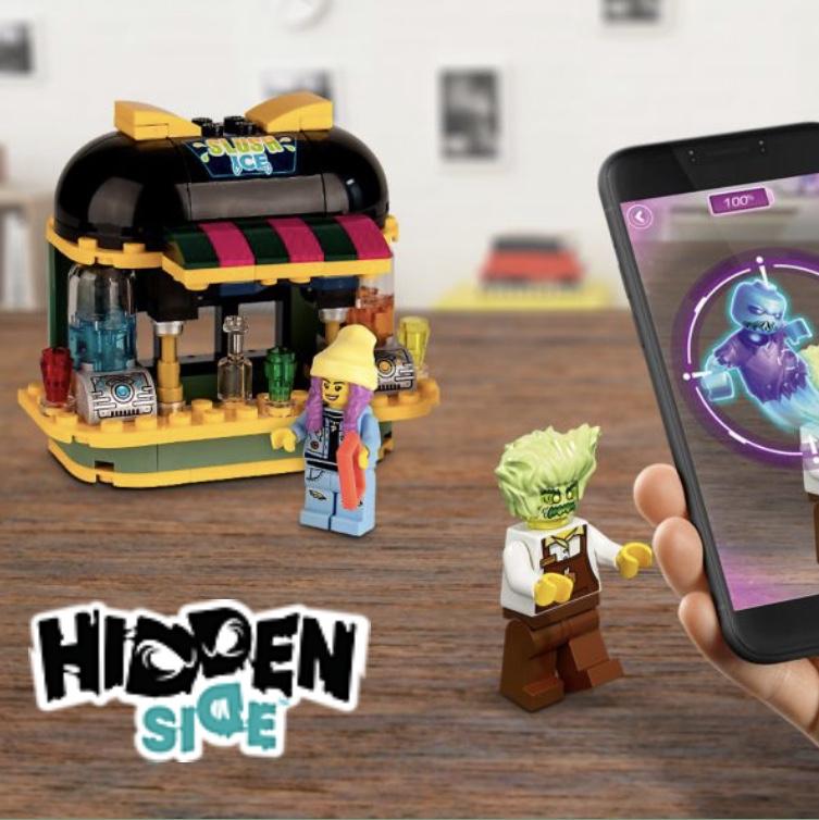 Gratis LEGO Hidden Side™ sapjesbar bij elke aankoop vanaf €45