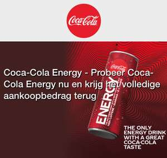 Gratis Coca-Cola Energy