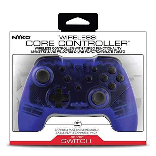 Nyko Wireless Core Controller Blauw voor Nintendo Switch @ Amazon.de