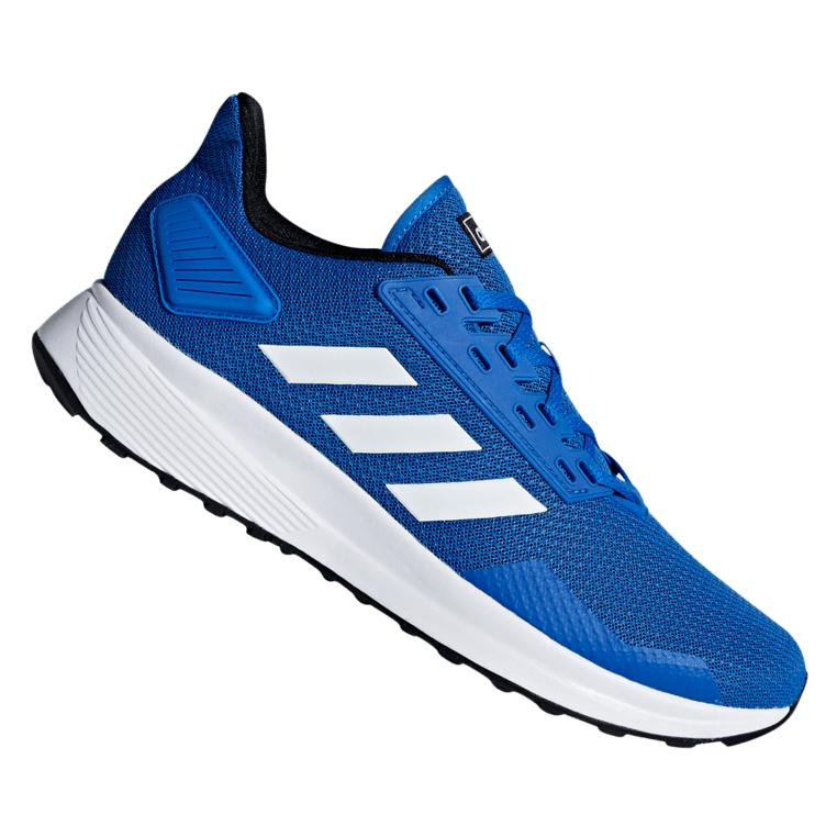 Adidas running schoen Duramo 9, blauw (maat 42 tot 46 2/3) van 59,95 voor 26,95