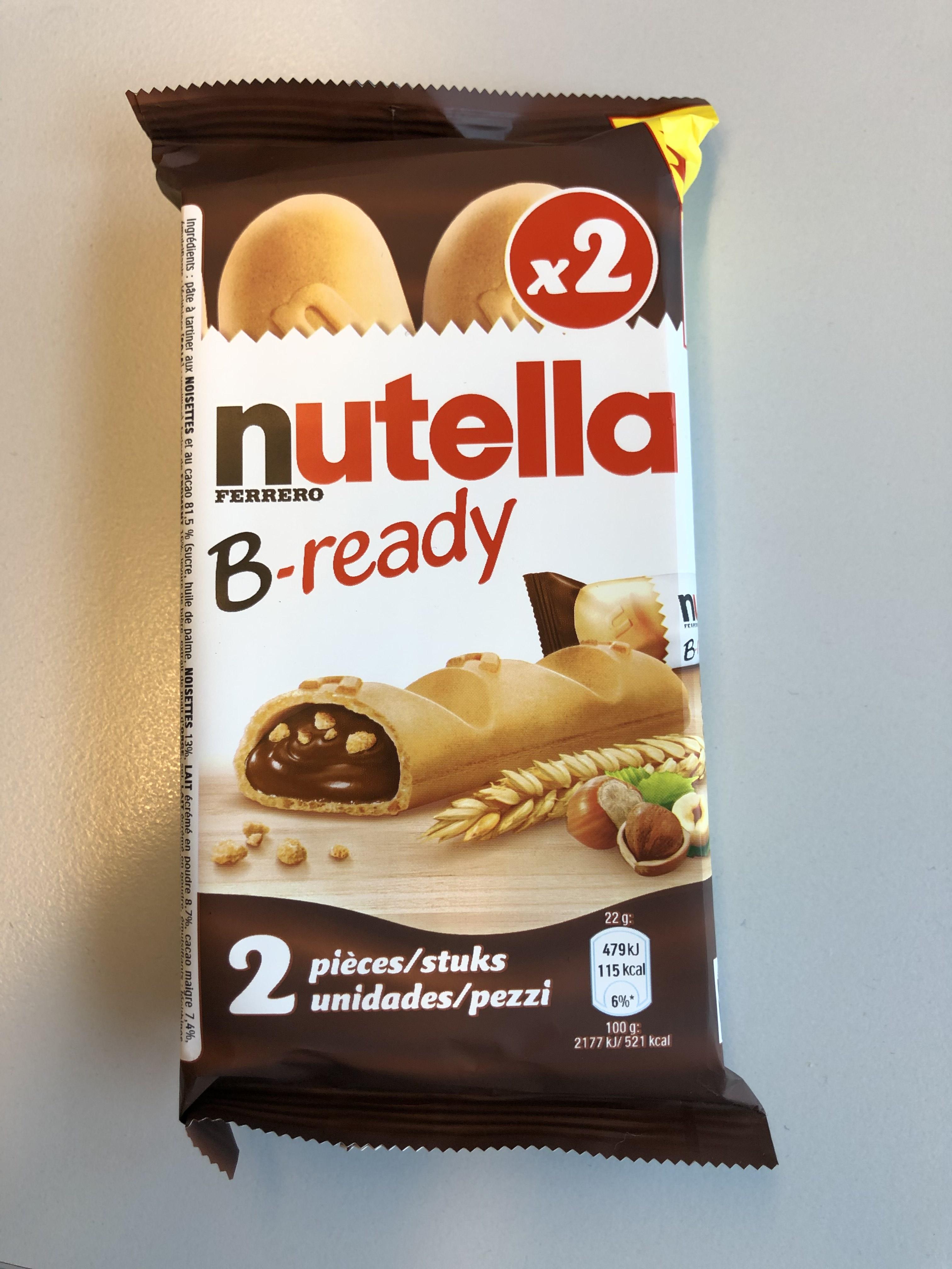 Gratis Nutella B-ready @Utrecht Centraal