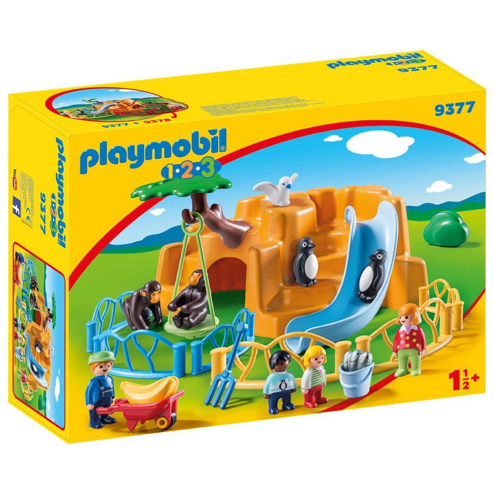 PLAYMOBIL 1.2.3 dierenpark 9377 (adviesprijs 34,99) @Blokker.nl