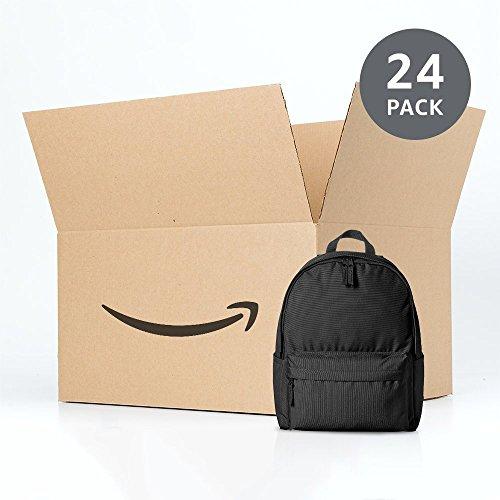 24 AmazonBasics rugzakken (zwart) voor €72,31