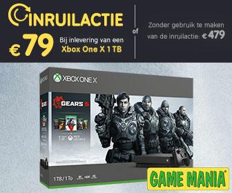 Nieuwe Xbox One X + Gears of War Collectie voor €79 bij inleveren oude Xbox One X @ Game Mania