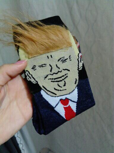 President Donald Trump Sokken