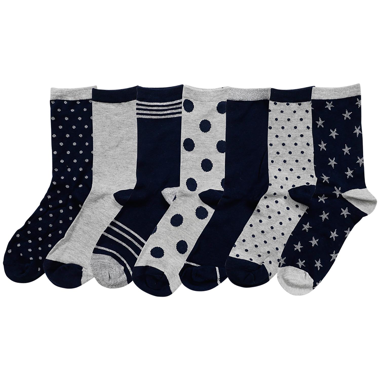 7 paar dames of heren sokken; Action; 0.38 per paar!!
