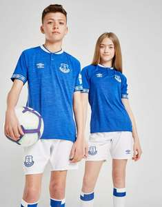Umbro Everton FC 2018/19 Home Shirt Junior (alleen XL)