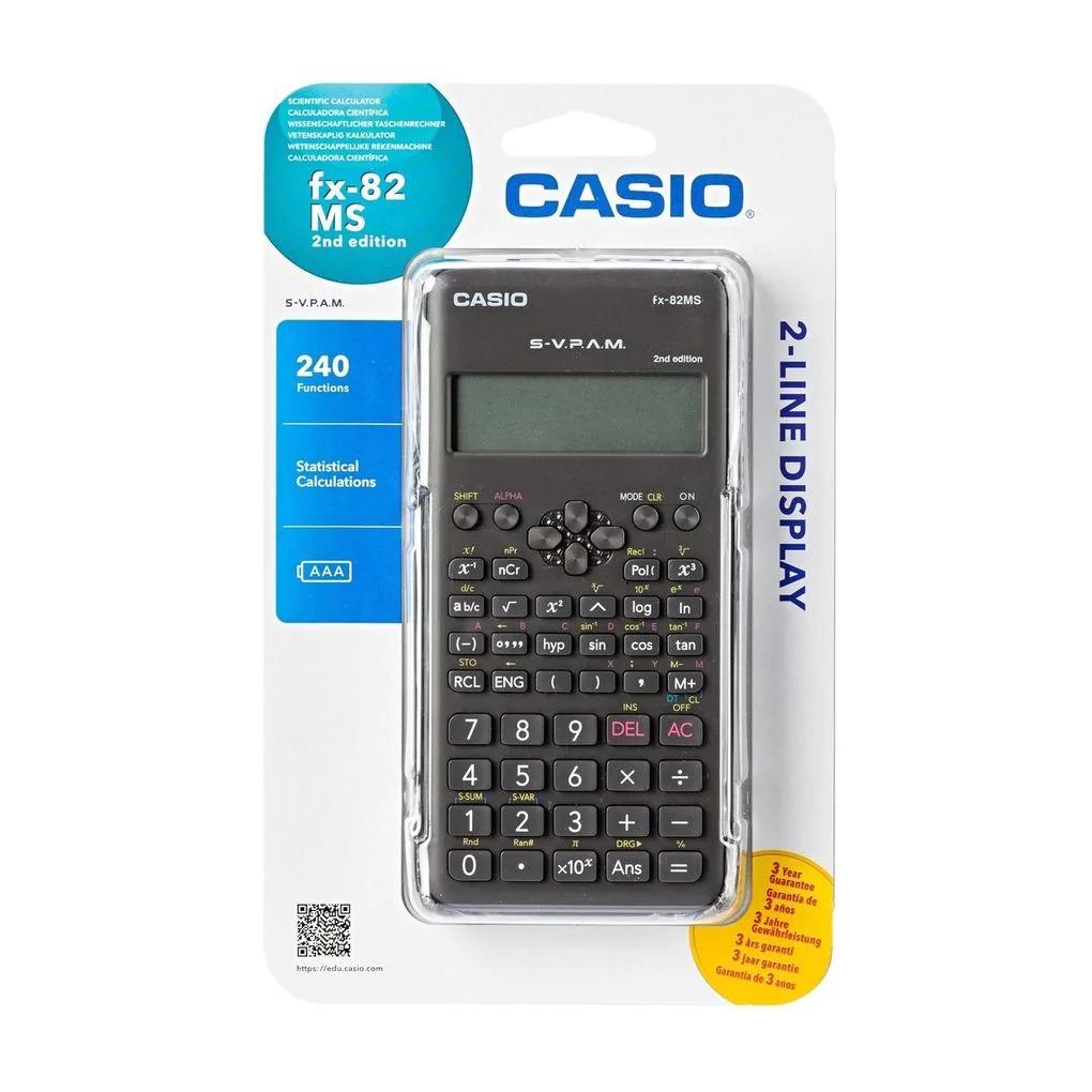 Casio rekenmachine en kaftpapier samen voor 3,99 @kruidvat.nl