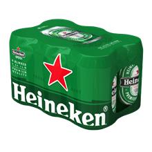 6-pack Heineken voor € 3 @ Poiesz
