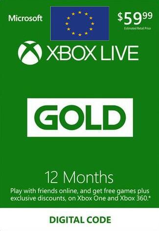XBOX Live Gold 12 maanden @NoKeys