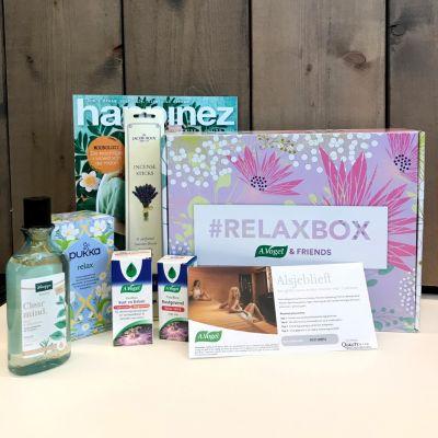 A.Vogel Relaxbox t.w.v. €81 met gratis saunabon!