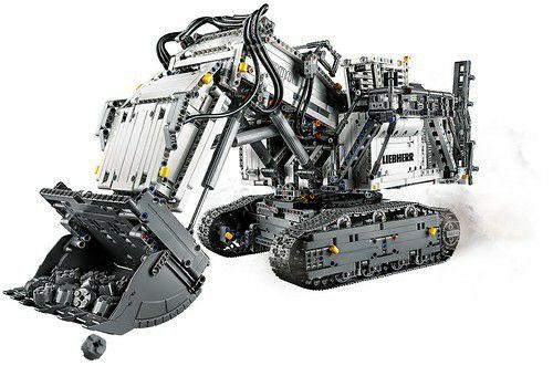 [PREORDER] LEGO® 42100 Technic Liebherr R9800 Graafmachine/Excavator CONTROL+
