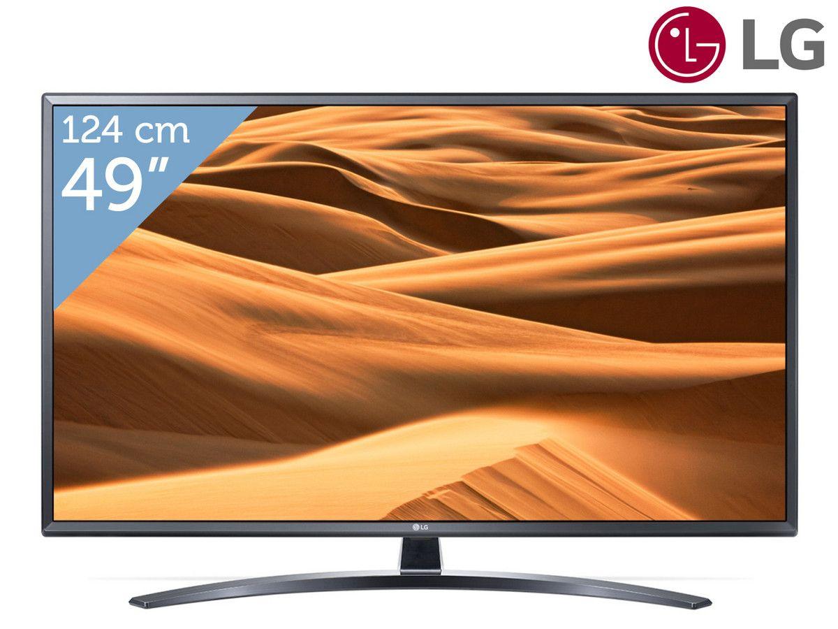 """[iBOOD] LG 49"""" 4K UHD TV (49UM7400PLB) (elders €519)"""