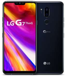 LG G7 (2018). 357eur. -22%. (6.1 inch QHD+ display, 4GB+64Gb, 2x16MPX (std/wide cam), 32bit dac. enz.)