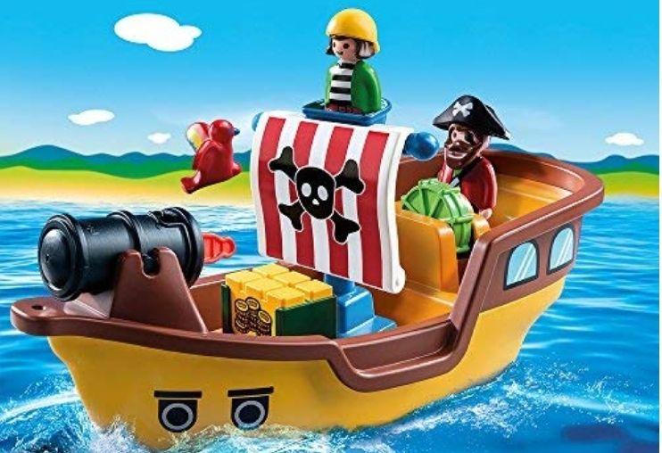 Playmobil 123 piratenschip 9118 Amazon.de