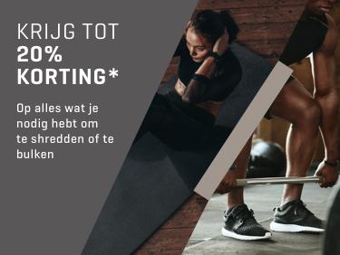 Tot 20% korting op geselecteerde producten @Body&Fit