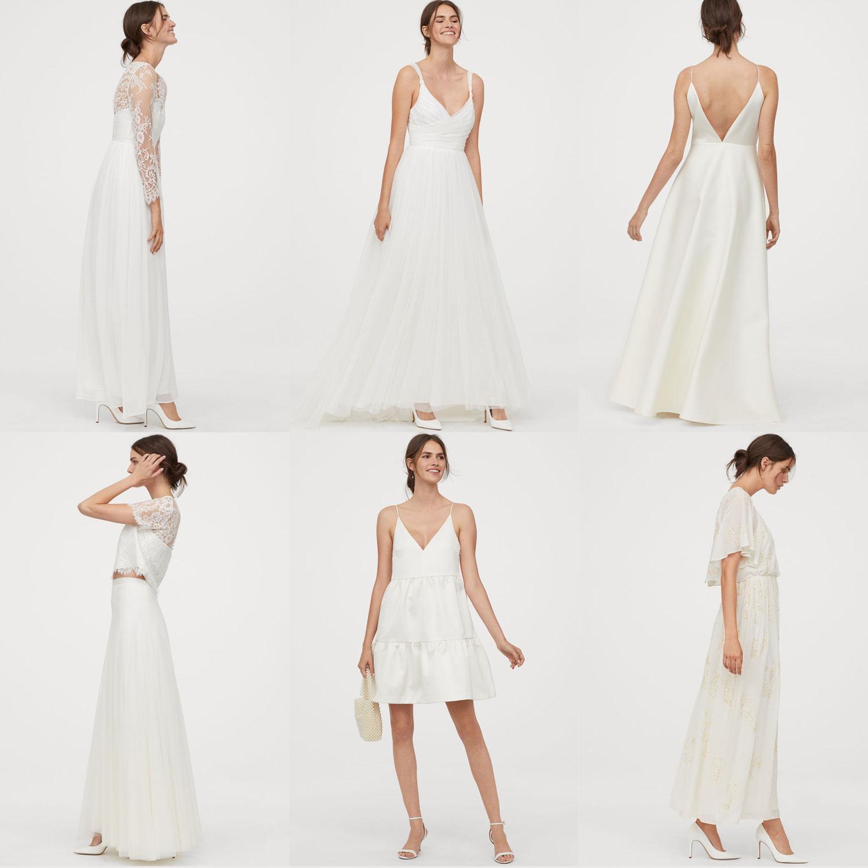 Nieuwe 'wedding collectie' (va €69,99) @ H&M