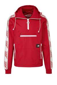 Superdry Sport anorak rood (was €119,99)