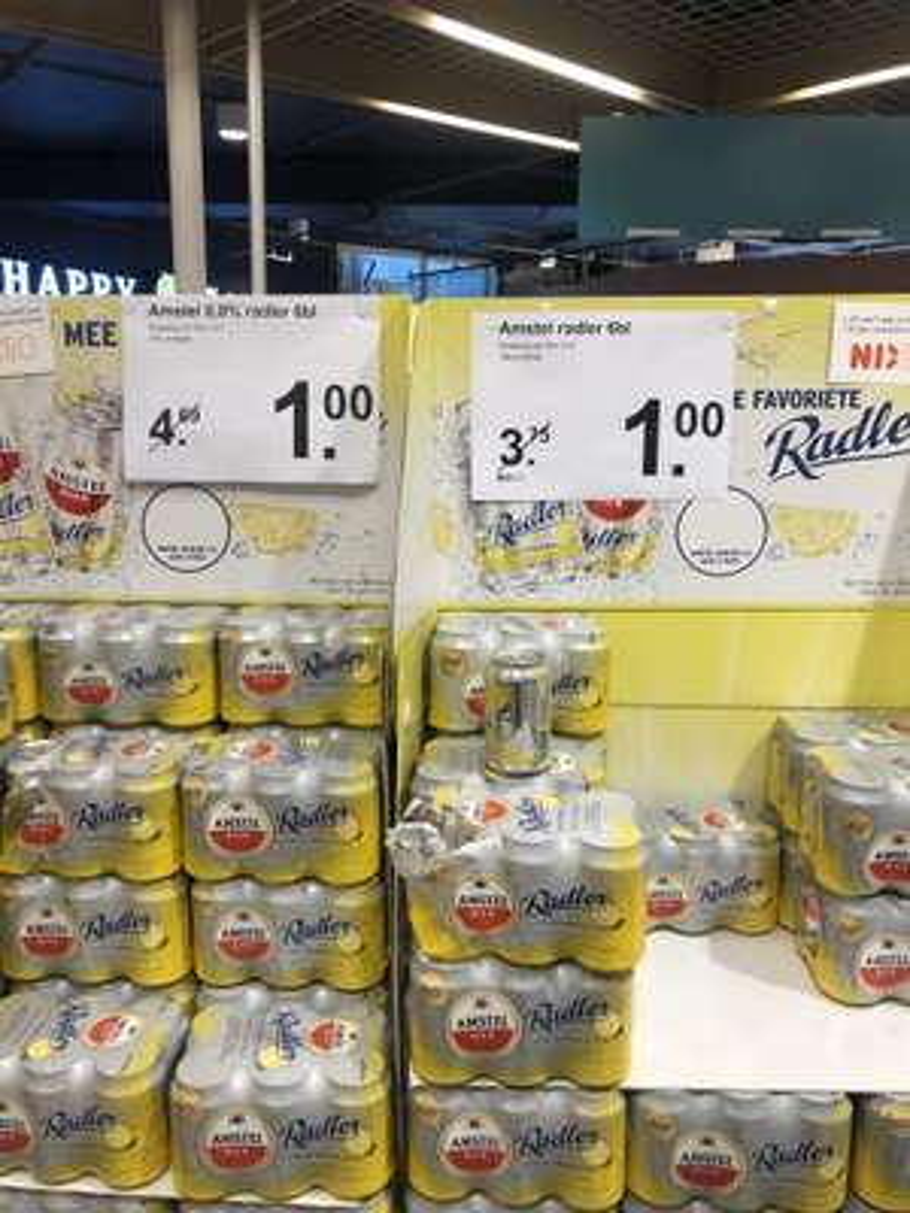 [Albert Heijn] Amstel Radler 6 blikjes voor €1,-