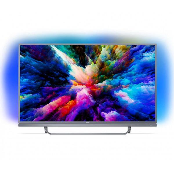 """Philips 49"""" 4K Smart TV met Ambilight & Android"""