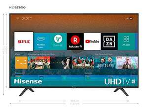 "(Grensdeal) Hisense H50BE7000 50"" 4K TV @ Amazon.de"