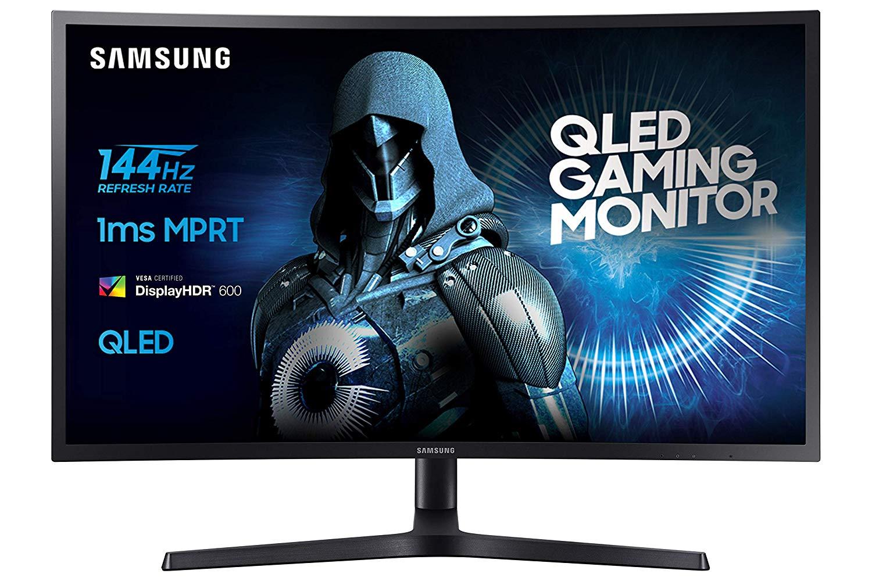 Samsung C27HG70QQ monitor (WQHD, QLED, 2560 x 1440, HDR, 144Hz, 1ms)