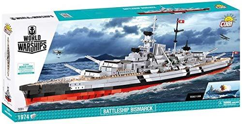 Battleship Bismarck Limited Edition (Cobi 3081) @ Amazon.de