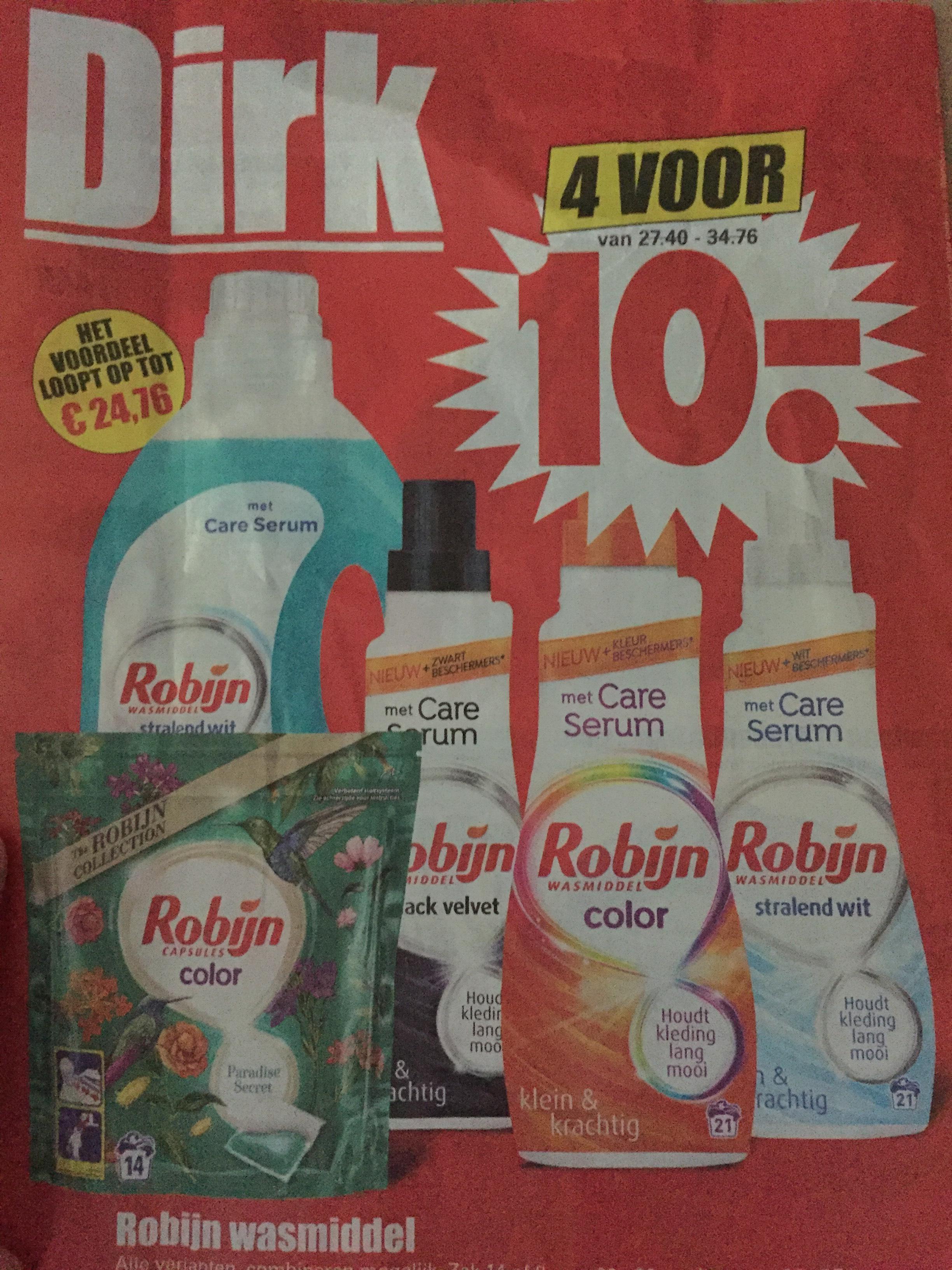4 x robijn voor 10 euro