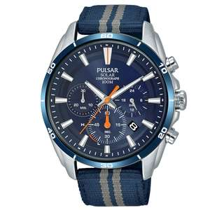 Pulsar PZ5089X1 Solar horloge @ Watches2u
