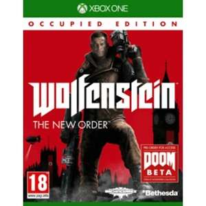 Wolfenstein The New Order Occupied Edition (Xbox One) @ Shop4NL