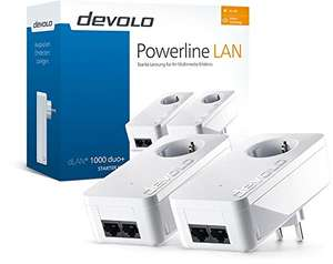 Devolo dLAN 1000 Duo+ starterkit @ Amazon.de
