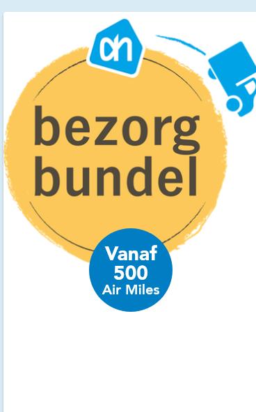 AIr miles code bezorgbundel @AH online