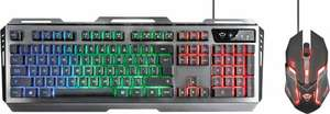 Trust GXT 845 Tural - Gaming Toetsenbord & Muis - Qwerty
