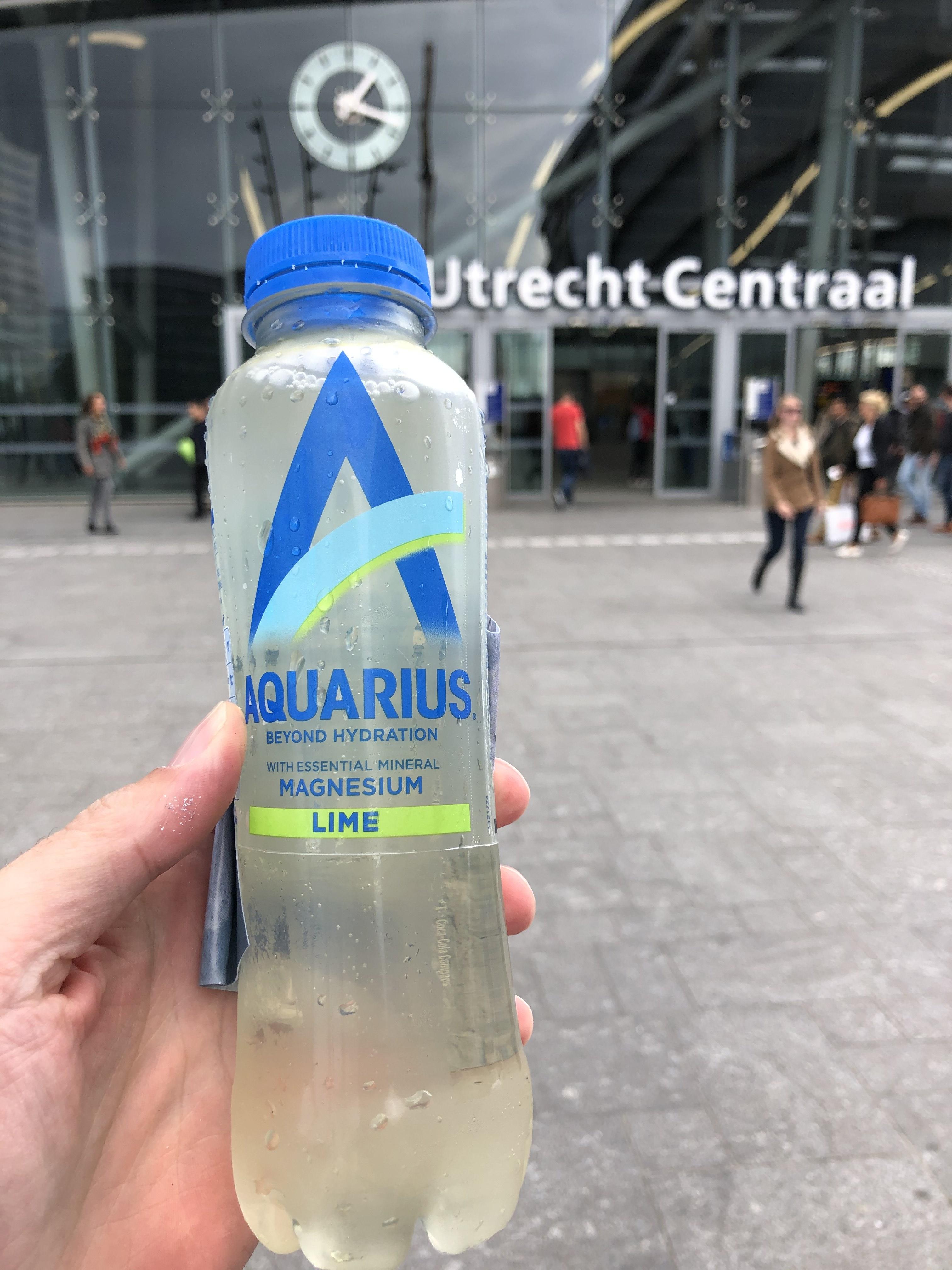Gratis Aquarius @station Utrecht Centraal