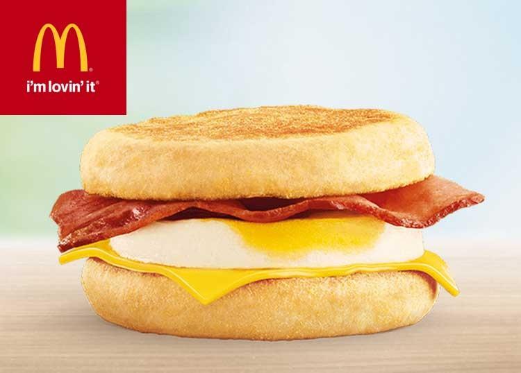 Grensdeal België - Gratis Bacon McMuffin & Egg - McDonald's