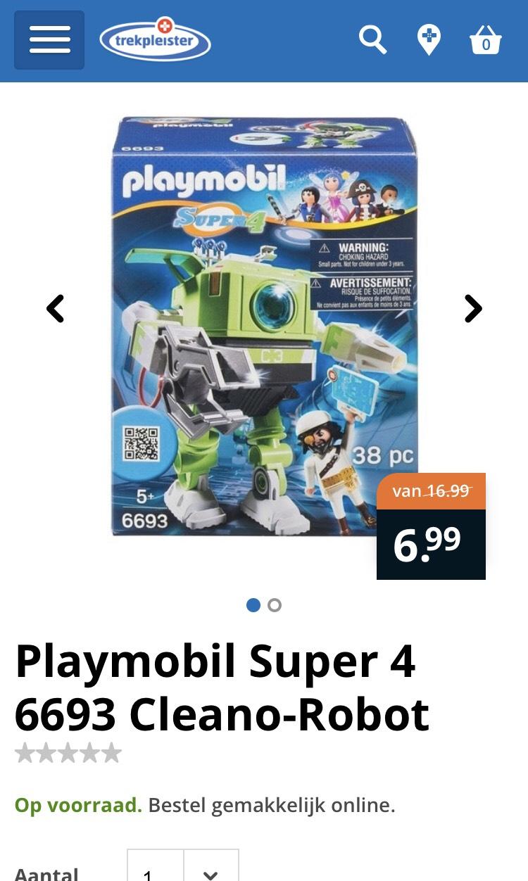 Playmobil 6693 super robot 4
