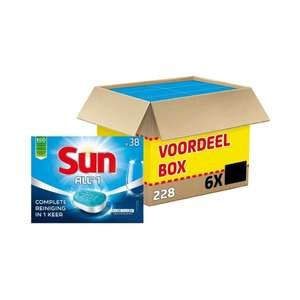 Sun all in one vaatwastabletten gratis verzending