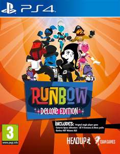 Runbow Deluxe Edition (PS4) @ Zavvi.nl