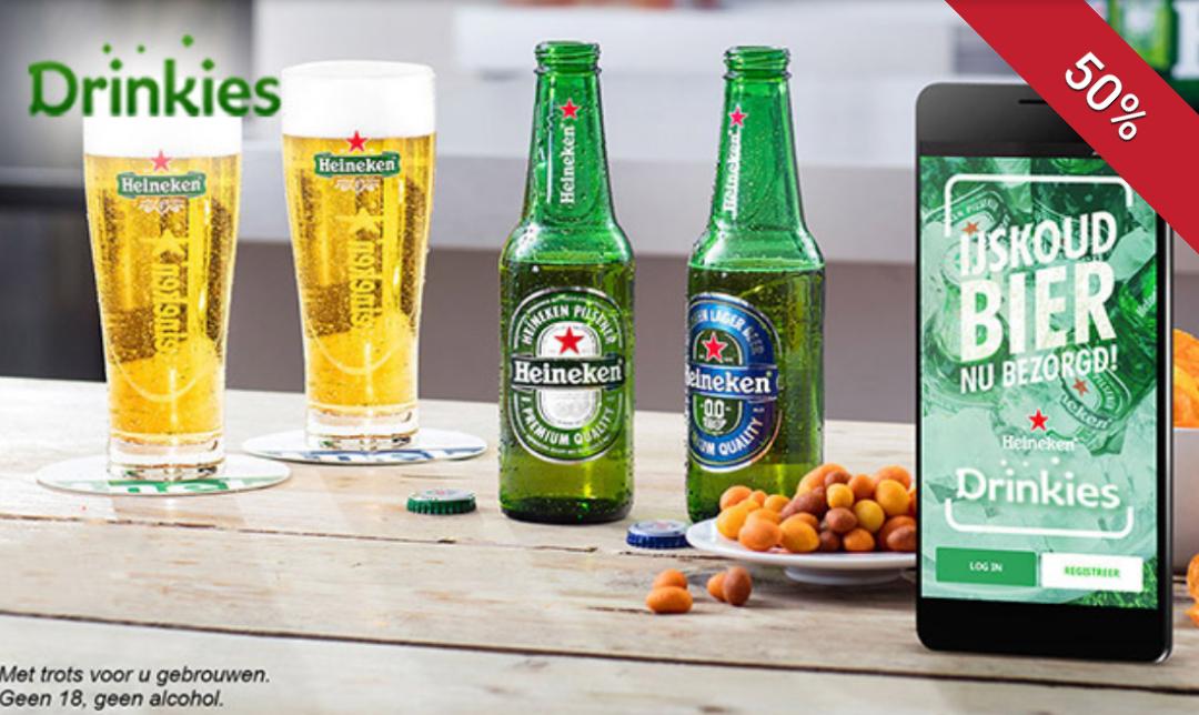 Drinkies tegoed (50% korting) op Social Deal