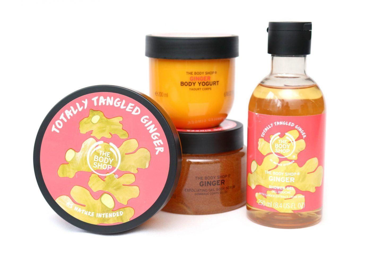 The Body Shop Ginger met 30% korting + 20/30% extra korting er bovenop met code